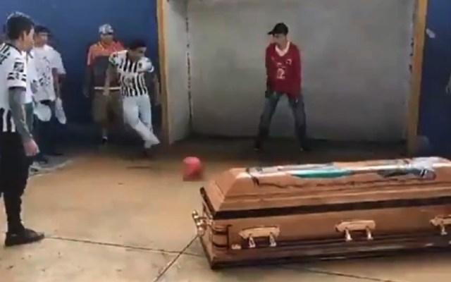 #Video El último gol de Alexander, joven asesinado en Oaxaca - Foto de captura de pantalla