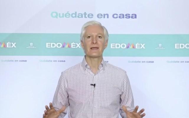 #Video Destaca Alfredo del Mazo la importancia del uso del cubrebocas; recuerda que Edomex está en semáforo rojo
