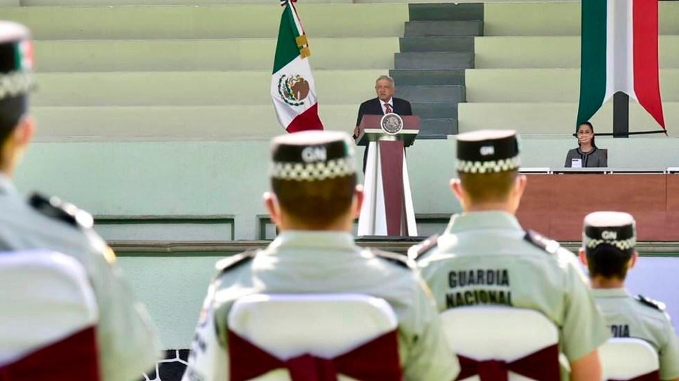AMLO destaca labor de Guardia Nacional para pacificar al país y combatir la delincuencia - AMLO Guardia Nacional