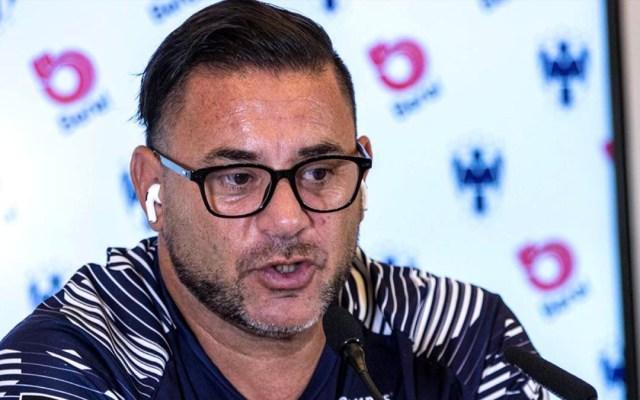 Monterrey destituye a Antonio Mohamedcomo director técnico del equipo - Antonio Mohamed. Foto de @Rayados