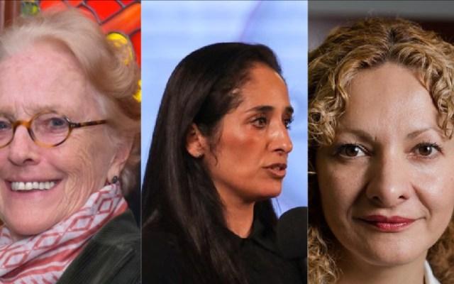 Renuncian tres funcionarias de sectores clave del Gobierno de México - Asa Christina Laurell, Mónica Maccise y Mara Gómez. Foto Especial