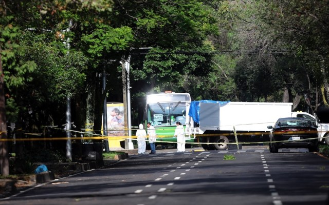 En ataque contra García Harfuch habrían participado 25 sujetos; utilizaron inhibidor de señal - Foto de EFE