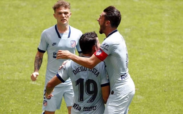 Diego Costa dedica gol a Virginia Torrecilla, jugadora operada de un tumor - Atlético de Madrid partido Athletic de Bilbao 14062020 Diego Costa