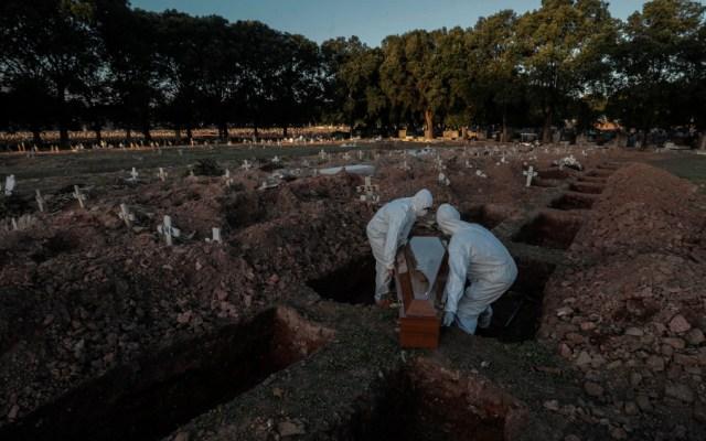 Brasil supera las 57 mil muertes y los 1.3 millones de casos de COVID-19 - Foto de EFE