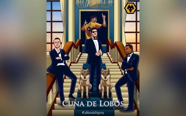 #Viral Wolverhampton anuncia su regreso al estilo 'Cuna de Lobos' - Cartel de los Wolves al estilo Cuna de Lobos