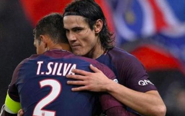 PSG confirma salida de Cavani y Silva al final de la temporada - Cavani y Silva del PSG