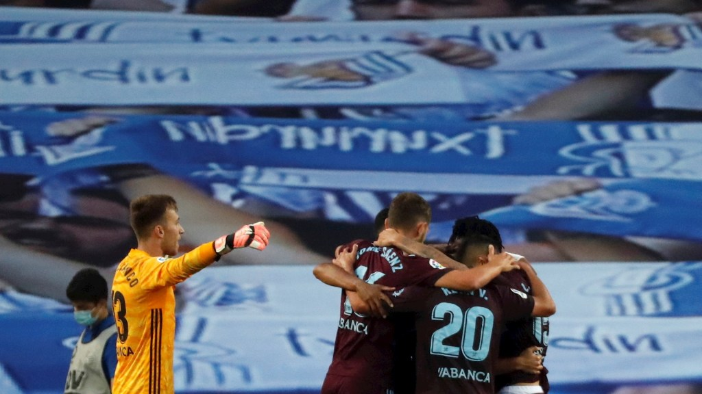 Celta se aleja del descenso tras victoria ante el Real Sociedad - Celta de Vigo Real Sociedad Futbol