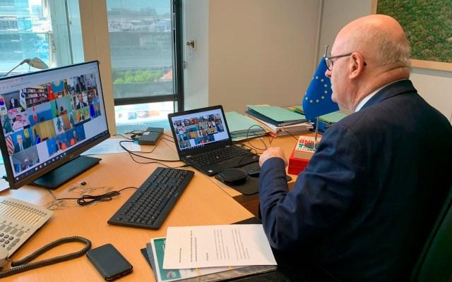 Comisario europeo de Comercio estudia ser candidato a director general de la OMC - comisario europeo de Comercio, Phil Hogan