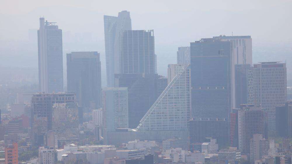 Activan para hoy alertas por fuertes vientos en toda la CDMX - Ciudad de México. Foto de EFE
