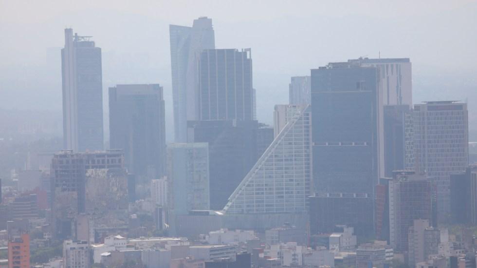 Continúan medidas de altas concentraciones de ozono en el Valle de México; se mantiene Hoy No Circula - Contaminación en Ciudad de México. Foto de EFE