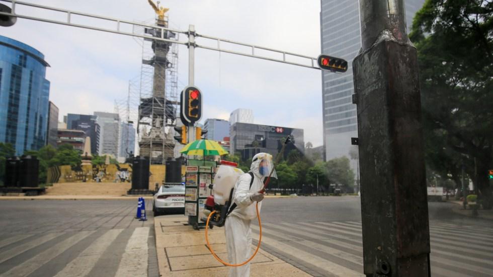No se ha acabado la epidemia… estamos en la época de máximo peligro: López-Gatell - COVID-19 coronavirus Ciudad de México Sanitización Reforma