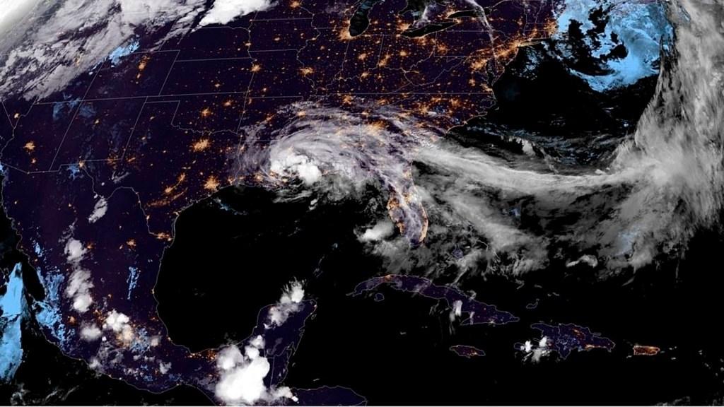 Cristóbal se convierte en depresión tropical; prevén inundaciones al sur de Estados Unidos - Cristóbal estados unidos