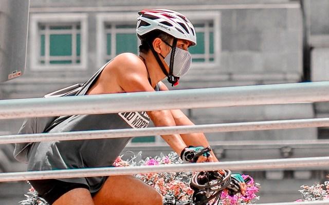 ¿Cómo escoger un cubrebocas para hacer ejercicio? - Deporte cubrebocas mascarilla bicicleta actividad física
