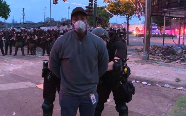 Sociedad Interamericana de Prensa condena agresiones a periodistas en protestas por George Floyd - Detención del reportero de CNN, Ómar Jiménez, durante protesta en Minneapolis