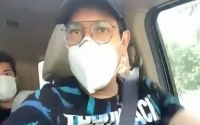 #Video Diputado capitalino de Morena sesiona mientras conduce; lo critican en redes - Diputado Morena manejo Ciudad de México