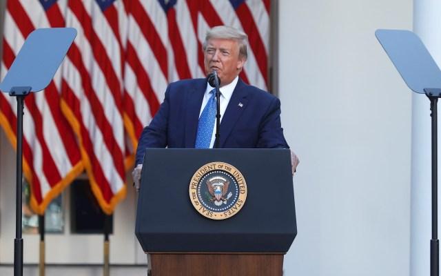 Trump pide a Justicia estadounidense bloquear libro de Bolton - Donald Trump Estados Unidos presidente 2