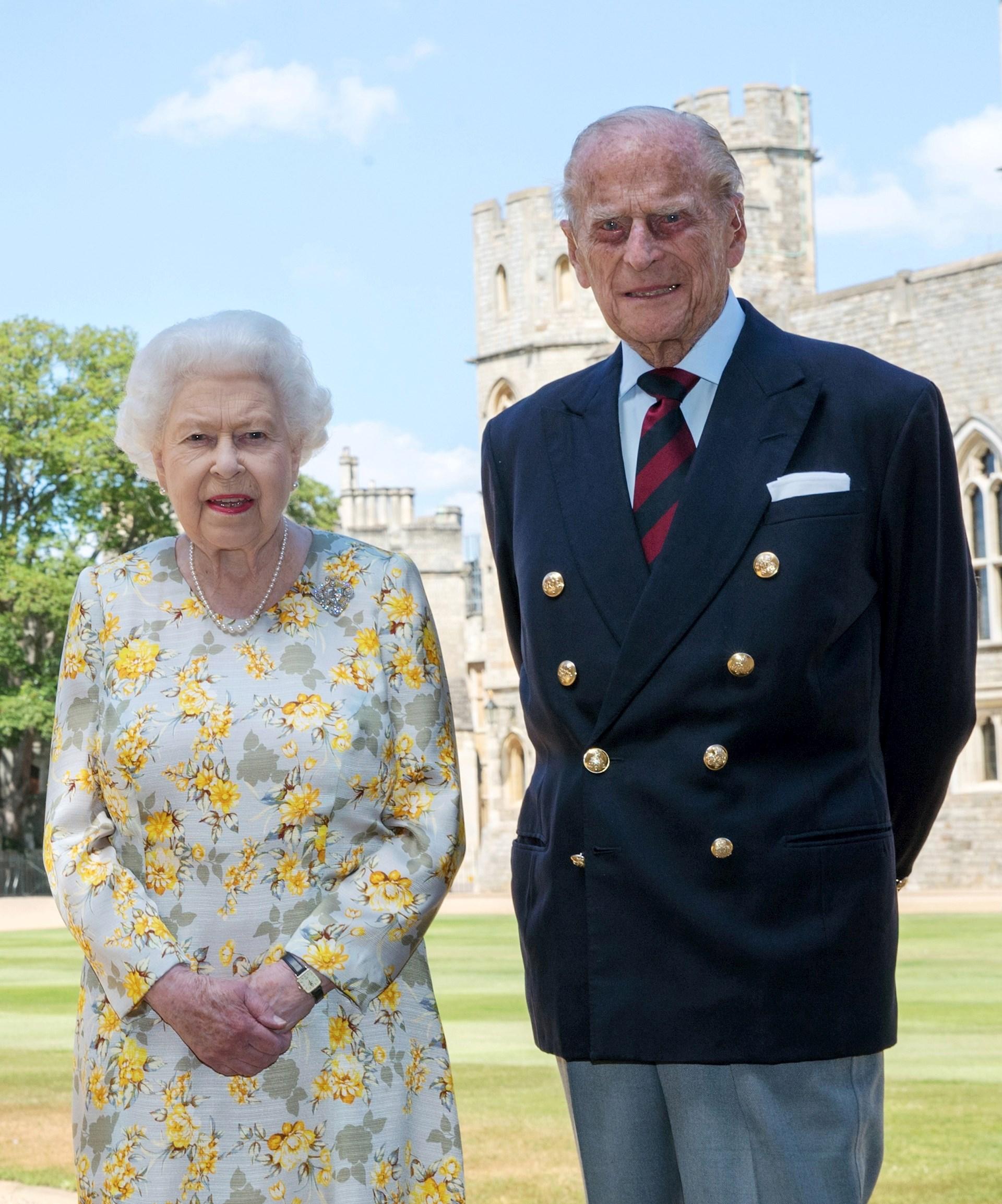 duque de Edimburgo reina Isabel II
