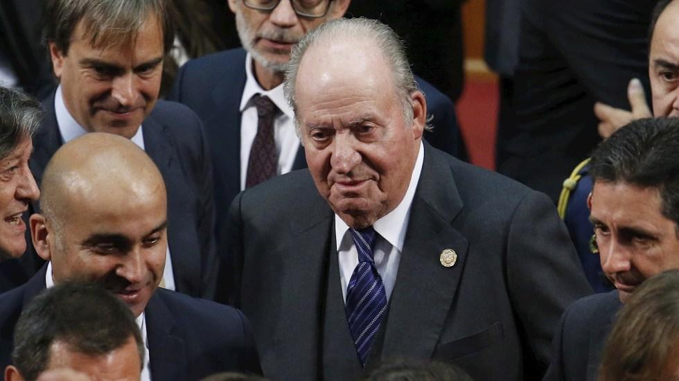 Salida del rey emérito Juan Carlos I de España destaca en medios latinoamericanos - El rey emérito, Juan Carlos de Borbón. Foto de EFE/Elvis González/Archivo.