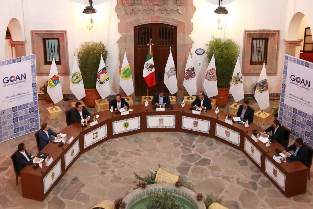 Gobernadores panistas publican acuerdo para defensa del federalismo ante contingencia por COVID-19 - Foto de GOAN