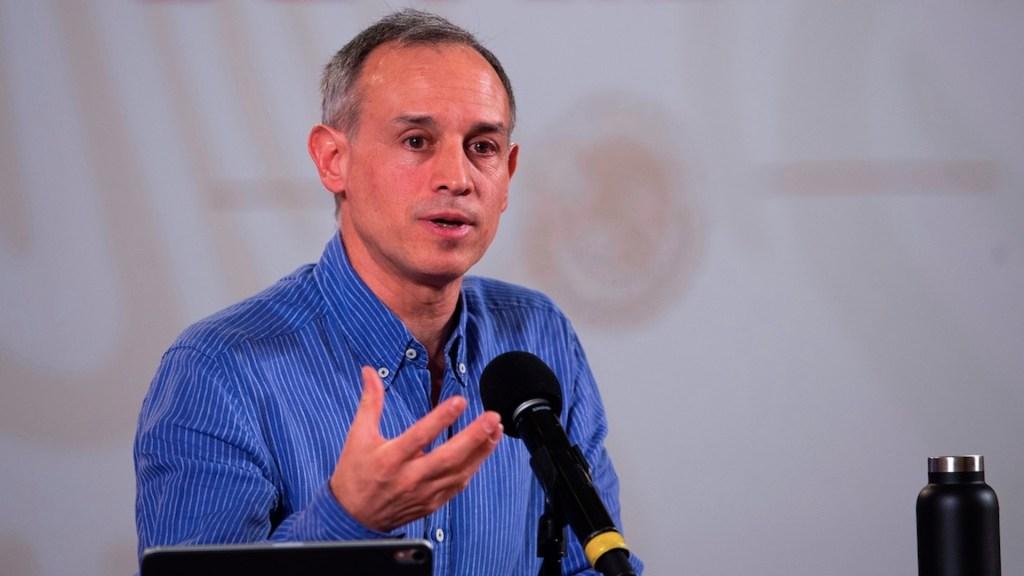 #Video Yo quiero a todos los gobernadores, asegura López-Gatell a su llegada a SLP - Foto de EFE