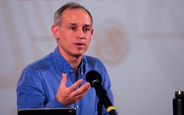 Gobernadores retiran exigencia de renuncia de López-Gatell, afirma Sánchez Cordero. Alianza Federalista asegura que solicitud sigue vigente - Foto de EFE