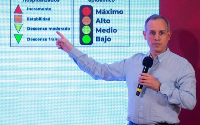 Gobierno da mensajes claros sobre la pandemia, asegura López-Gatell - Hugo López-Gatell COVID-19 coronavirus conferencia de prensa