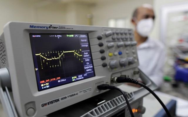Panamá, en 'nivel crítico' de capacidad en unidades de cuidados intensivos - Humidificador de alto flujo, sistema que sirve para tratar el aire de los pacientes con COVID-19. Foto de EFE