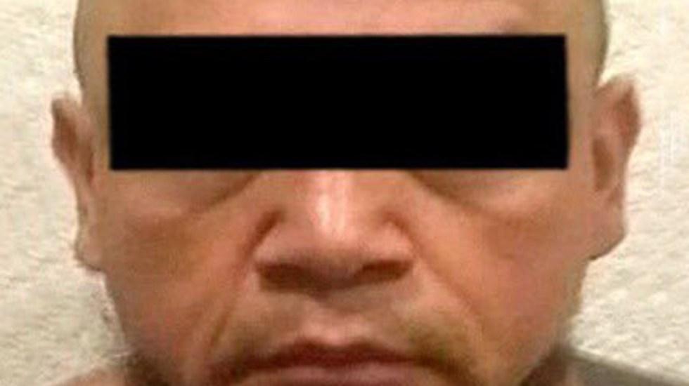 Dan ocho años de cárcel a 'El Tortas', exlíder de la Fuerza Anti-Unión - Jorge F., alias 'El Tortas'. Foto de @FGRMexico