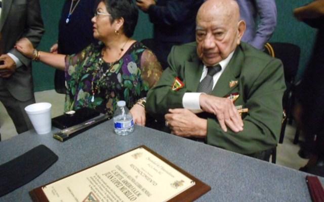 Murió a los 95 años Juan López Murillo, integrante del Escuadrón 201 - Foto de Muy Juarense.com