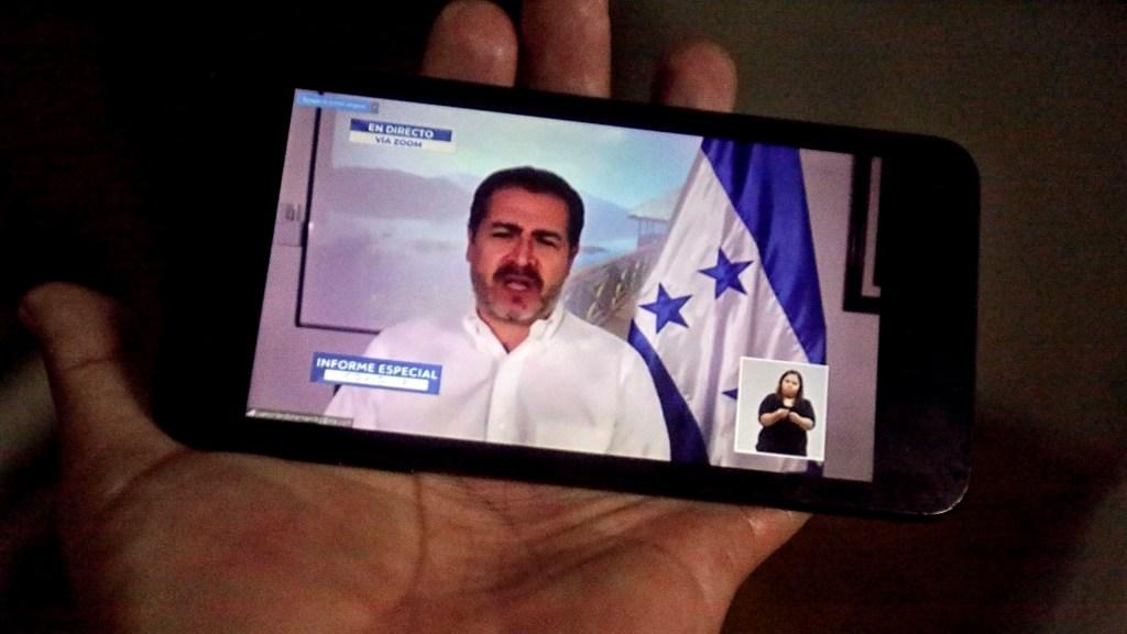 Juan Orlando Hernández, presidente de Honduras, es diagnosticado con neumonía - Juan Orlando Hernández coronavirus COVID-19