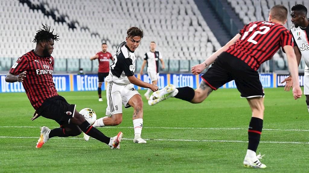 Juventus clasifica a la Final de la Copa Italia tras empate a cero ante Milán - Juventus Inter de Milán partido Italia 12062020