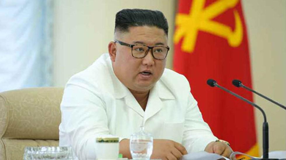 Corea del Norte se disculpa por matar a funcionario surcoreano - Kim Jong-un. Foto de Rodong Sinmun