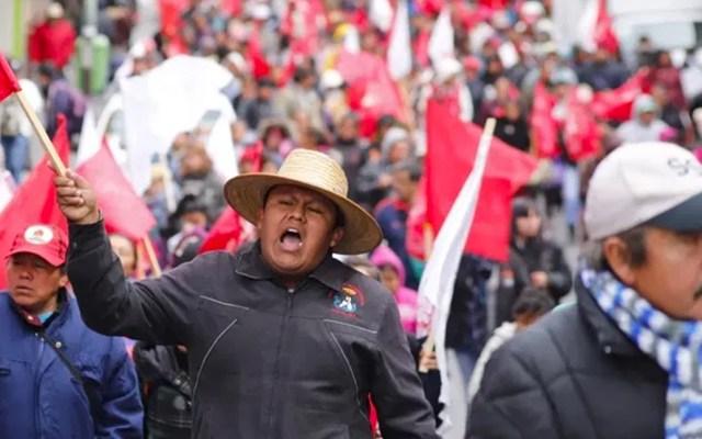 Movimiento Campesino de Guerrero anuncia protestas por programa de fertilizante - Manifestación de Antorcha Campesina
