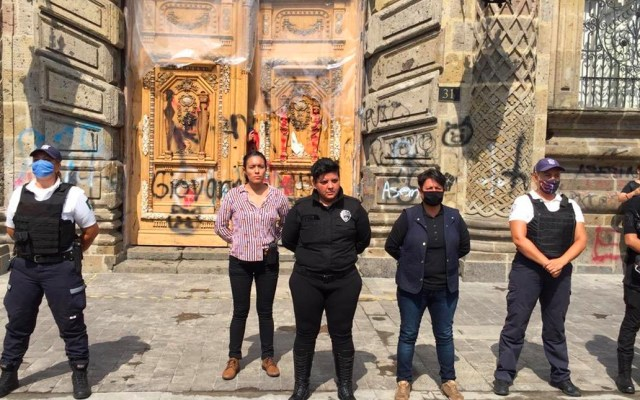 Human Rights Watch pide garantías a autoridades por desaparecidos en manifestaciones de Guadalajara - Manifestación en Guadalajara