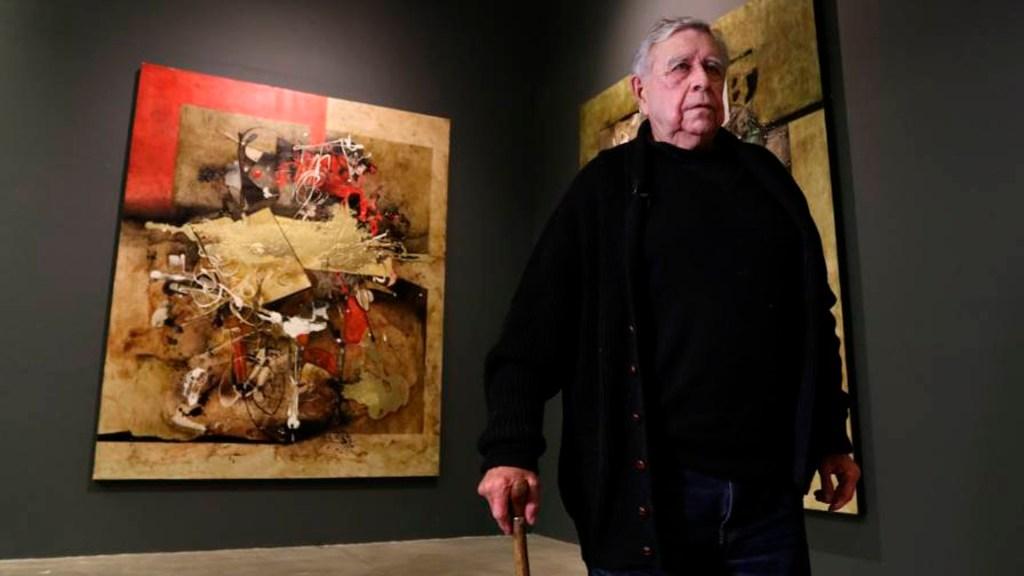 Murió a los 91 años el pintor y escultor Manuel Felguérez - Manuel Felguérez