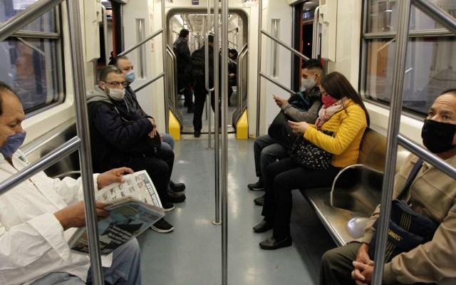 Llaman a guardar silencio en el Metro para evitar contagios de COVID-19 - Metro Ciudad de México COVID-19 pandemia epidemia