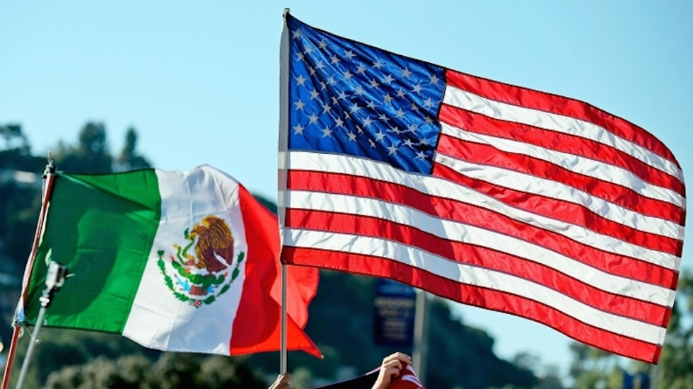 Secretario de Estado de EE.UU. se reúne con Marcelo Ebrard y Tatiana Clouthier - Foto de México en Red