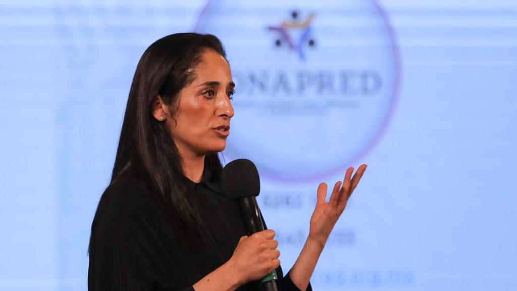 Renuncia Mónica Maccise, titular del Conapred; AMLO propondrá a mujer indígena para el cargo - Mónica Maccise. Foto de @elConapred