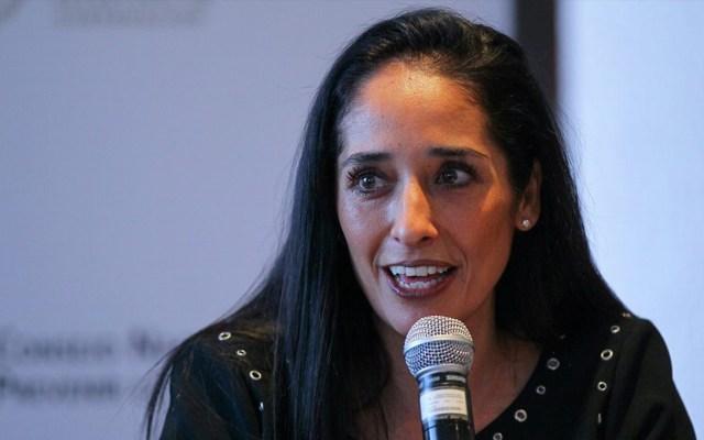 Confirma Segob renuncia de Mónica Maccise a la presidencia del Conapred - Mónica Maccise. Foto de Notimex.