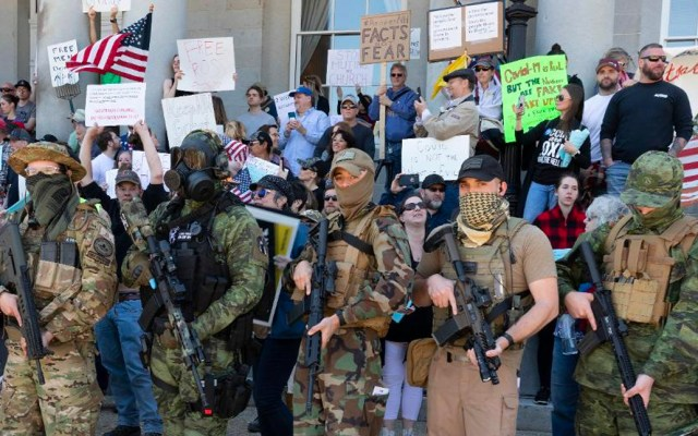 Grupos supremacistas y de ultraderecha conspiran para realizar guerra civil en Estados Unidos - Movimiento Boogaloo