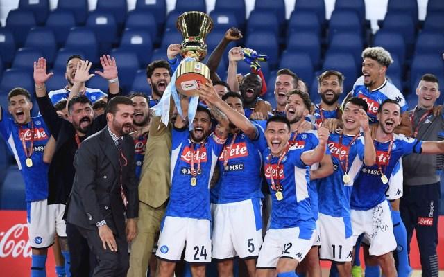 Nápoles derrota en penales a Juventus y conquista su sexta Copa Italia - Nápoles Juventus final Copa Italia futbol