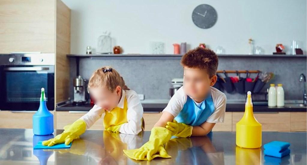 UNAM promueve importancia de distribuir roles a los hijos en casa - Niños, labores en el hogar