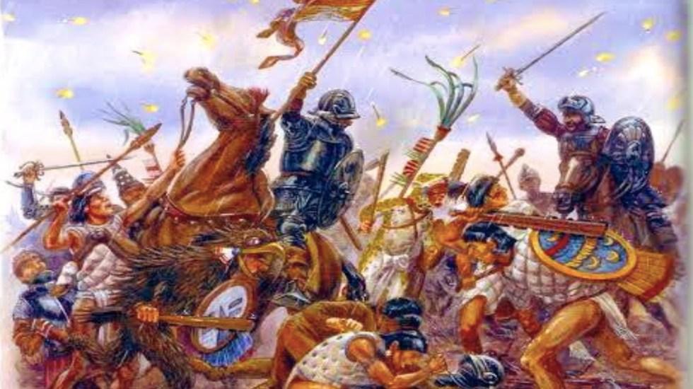 La noche triste, la batalla que ganaron los mexicas a Hernán Cortés - Foto de @Cuauhtemoc_1521