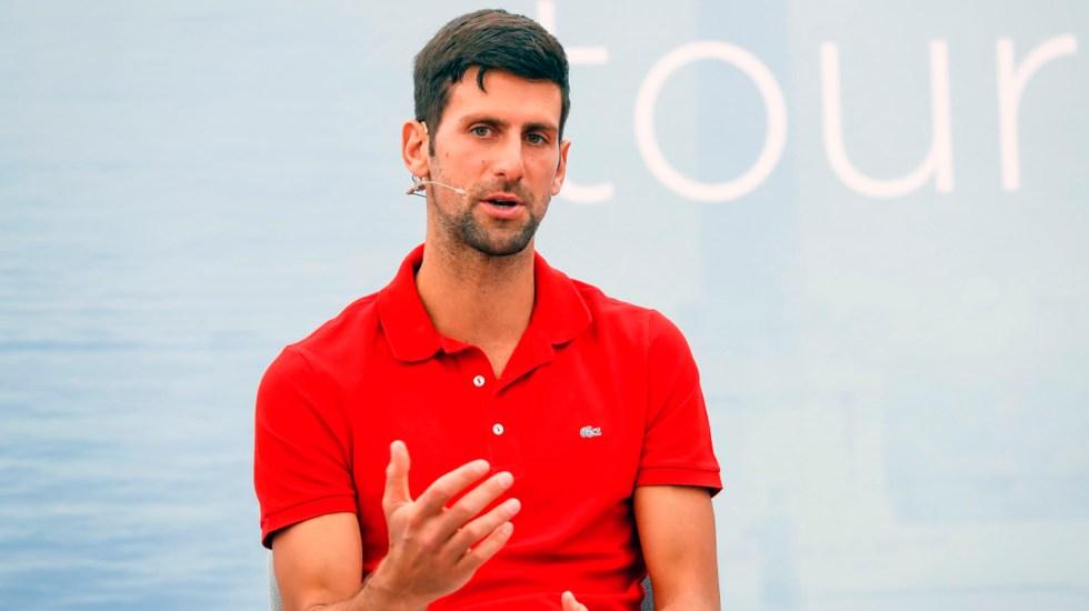 Novak Djokovic da positivo a COVID-19; se encuentra asintomático - Novak Djokovic coronavirus COVID-19