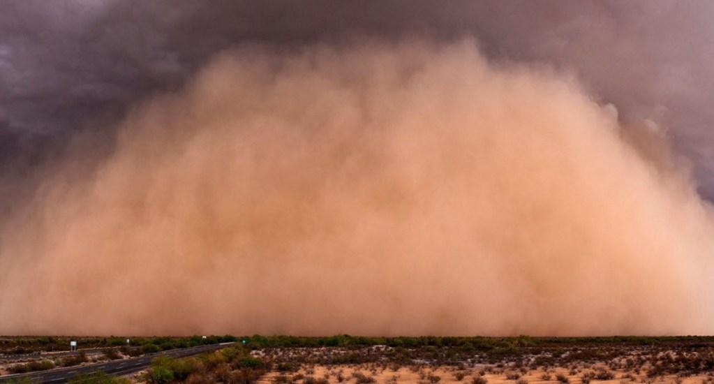 Descartan riesgo para la población ante llegada de polvo del Sahara a México - Nube de polvo Sahara
