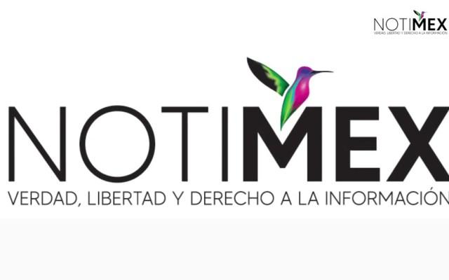 López Obrador pide a Sanjuana Martínez dialogar y resolver huelga en Notimex - Nueva imagen de Notimex. Foto de @Notimex