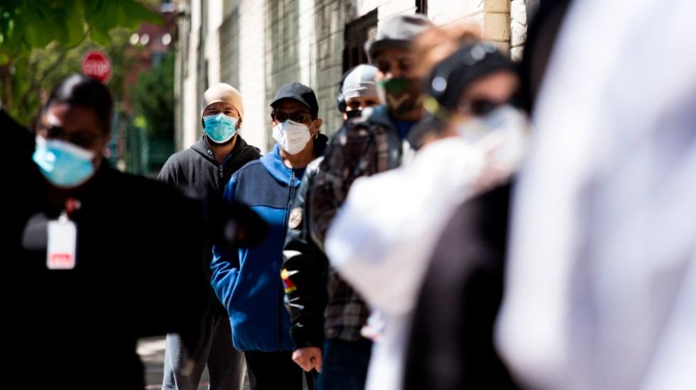EE.UU. tiene más de 8.1 millones de casos y 219 mil 156 muertos por COVID-19 - Foto de EFE