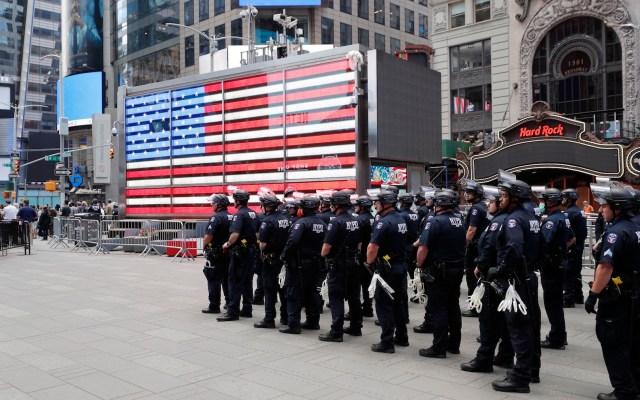 Nueva York debate imponer toque de queda por protestas - Foto de EFE
