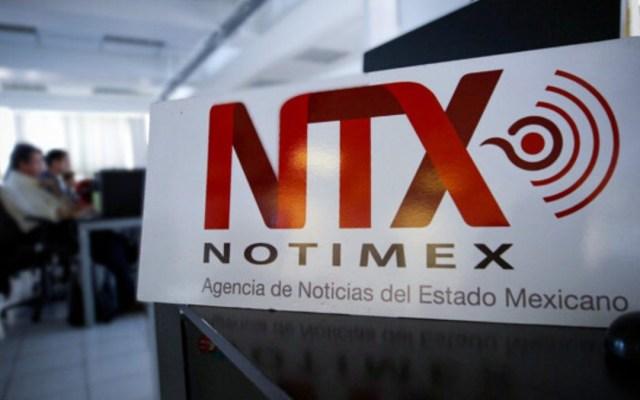 López Obrador afirma que no desaparecerá Notimex - Oficinas de Notimex. Foto de @Notimex