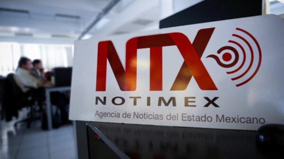 Gobierno de México incumple el T-MEC por actos ilegales de Notimex - Oficinas de Notimex. Foto de @Notimex